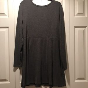 Forever 21 Grey Sweater Dress